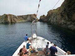 16日間の美食とビーチバカンスのシチリア!Vol23(第4日目昼) ☆エオリエ諸島:パナレア島(Panarea) ストロンボリツアー!パナレアで泳ぐ♪