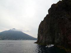 16日間の美食とビーチバカンスのシチリア!Vol25(第4日目午後) ☆エオリエ諸島:パナレア島(Panarea)とストロンボリ島(Stromboli) ストロンボリツアー!パナレアのプクプクと美しい洞窟 ストロンボリッキオ観光♪