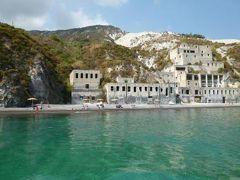 16日間の美食とビーチバカンスのシチリア!Vol35(第6日目昼) ☆エオリエ諸島:リパリ島(Lipari) リパリ島の美しいビーチ「Pietra Liscia」からリパリへ帰る♪