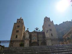 16日間の美食とビーチバカンスのシチリア!Vol40(第7日目午前) ☆チェファルー(Cefalu) チェファルーの圧倒的な存在の大聖堂(Cattedrale)♪