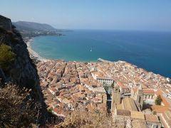 16日間の美食とビーチバカンスのシチリア!Vol42(第7日目午前) ☆チェファルー(Cefalu) チェファルーのディアナ神殿(Tempio Di Diana)から絶景を楽しむ♪