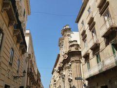 16日間の美食とビーチバカンスのシチリア!Vol49(第8日目昼) ☆トラパニ(Trapani) トラパニのバロック調の美しい旧市街を散策をして憧れのファヴィニアーナへ♪