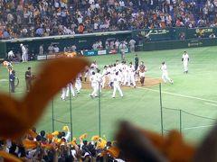 巨人・阪神最終戦は 高橋由伸の劇的サヨナラホームラン