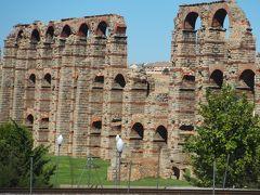 スペイン銀の道パラドール紀行: メリダ(水道橋&ローマ博物館)