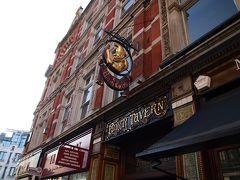 LON05 朝からパブで朝食を (Punch Tavern体験記)