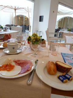 16日間の美食とビーチバカンスのシチリア!Vol62(第10日目朝) ☆エガディ諸島:ファヴィニアーナ島(Favignana) ファヴィニアーナのホテル「Tempo Di Mare」の素敵な朝を迎えて♪