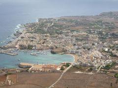 16日間の美食とビーチバカンスのシチリア!Vol63(第10日目午前) ☆エガディ諸島:ファヴィニアーナ島(Favignana) ファヴィニアーナの最高峰カテリーナ山(Monte.S.Caterina)から絶景を楽しむ♪