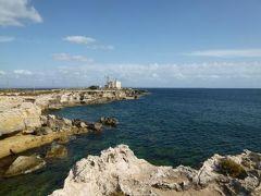 16日間の美食とビーチバカンスのシチリア!Vol67(第10日目午後) ☆エガディ諸島:ファヴィニアーナ島(Favignana) ファヴィニアーナのマルサラ灯台(Punta Marsala)周辺の美しい絶景を眺めて♪
