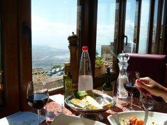 16日間の美食とビーチバカンスのシチリア!Vol72(第11日目昼) ☆エリーチェ(Erice):エリーチェのホテル「Elimo」のメインダイニングで絶景を楽しみながら優雅にランチ♪
