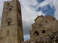16日間の美食とビーチバカンスのシチリア!Vol73(第11日目午後) ☆エリーチェ(Erice):エリーチェ観光♪ 鐘楼「Torre di Re Federico」と優美な教会「Real Duomo」(別名:マトリーチェ教会Chiesa Matrice)♪