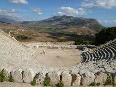 16日間の美食とビーチバカンスのシチリア!Vol91(第13日目午前) ☆セジェスタ(Segesta):セジェスタのギリシャ劇場を眺めて古代を想う♪