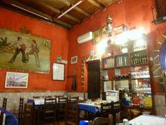 16日間の美食とビーチバカンスのシチリア!Vol99(第13日目夜) ☆パレルモ(Palermo):パレルモのオネェ(!)なトラットリア「FERRO DI CAVALLO」で絶品のシーフードを頂く♪