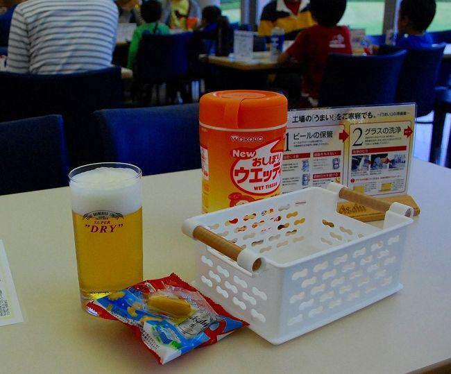 今年も、京セラドーム大阪に行ってきました。<br />今年の都市対抗野球は、東京ドームではなく、京セラドーム大阪での開催です。<br />この4トラベルの旅行記では、野球分少なめで書きたいと思います。<br /><br />野球ブログは、こちらで。<br />運命のドラフト、やったね古野正人。<br />http://www.plus-blog.sportsnavi.com/chifu/article/558<br />熱戦続く、都市対抗野球<br />http://www.plus-blog.sportsnavi.com/chifu/article/556<br /><br />それにしても、新宿からの高速バスに乗り遅れそうになって、大変でした。<br />高速バス乗り場には、早めに行きましょう。そして、オリオンツアーに乗るのは、やめましょう。<br /><br />第二試合を見ずに、アサヒビールの工場見学に行ってきました。