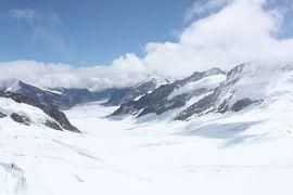 スイス王道(?)観光Part6(雲の切れ間のユングフラウヨッホ)