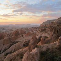 カッパドキアの夕陽とCCR