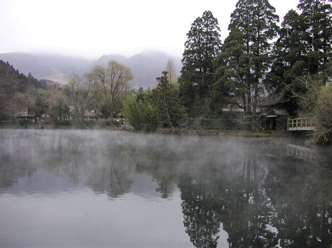 由布院・山荘無量塔の旅行記(ブログ)。<br />http://www.sansou-murata.com/<br /><br /> 無量塔を訪れたのは3度目。今回は「昭和」、前回は「明治の別荘」、そして前々回は「吉」に泊まった(友人が宿泊した「袍」についても追記している)。<br /><br />2020年,4回目の山荘無量塔宿泊記は下記のURLから。<br />https://4travel.jp/travelogue/11612342<br /><br /> 「昭和の別荘」は、別府の民家を移築したものである。古い民家ではあるが、よく手入れされていてとても気持ちがよい。エアコンもよく効く。トイレはシャワートイレに自動洗浄機能付きの小便器も備えている。玄関を入ると、右側に梁の見えるリビング+キッチンがあり、左側は広縁の付いた二間続きの和室になっている。そして中庭に面して茶室があり、中庭を二方から囲むように採光の良い廊下がめぐらされている。廊下の一番奥に浴室と洗面所が、その手前には2ベッドの寝室がある。 <br /><br /> 平屋で43坪、143平方メートルあるそうだ。とても開放的な造りで、もう少し涼しい時期であったなら、風通しの良い日本家屋の良さを味わえたことだろう。部屋は、以前に泊まった時の客の嗜好を十分に踏まえながら、入念に準備されていることが窺える。敢えて難点を探すとすれば、浴室のシャワーの水圧が若干低いことぐらいか。 <br /><br /> 客室のアメニティはMARKS &amp; WEB、バスタオルはひとり2枚ずつ。夕食の間に、使った分は取り替えてくれる。作務衣と浴衣が用意されていて、食事処やバーには、どちらを着て行っても構わない。冷蔵庫内の各種のソフトドリンクとビールは無料。夕食時のビールも中瓶650円と、良心的なプライシングである。 <br /><br /> 特筆すべきはバー(Tan&#39;s Bar)。夜は宿泊客専用となり、雰囲気が良いのは勿論なのだが、とにかく安い。普通のブランデーならショットで400円、マーテル・コルドン・ブルーが800円、バランタイン30年!が2000円。同じものを都心の高級ホテルのバーで頼んだら…と考えると、飲まなきゃ損!というぐらいの値段である。宿泊料金自体は決して安くはない旅館だが、冷蔵庫の缶ビールで千円取るような、どこぞのホテルと比べたら、無量塔の営業姿勢は敬服に値する。 <br /><br /> 夕食は、懐石風に仕立ててはあるが、地のものの良さを存分に引き出した洗練された田舎料理である。今回いただいた夕餉では、前菜に地鶏(冠鶏)の燻製が、煮物には黒豚の唐黍(とうきび=トウモロコシ)鍋が、変り鉢として和牛ロース諸味焼きが供された。肉だけでも3種類。黒豚の唐黍鍋は、トウモロコシをすりつぶして味噌のように使ってあるのだろうか、とても珍しく、また、長茄子・ささがきごぼう・冬瓜などの野菜と黒豚とのマッチングが絶妙である。和牛ロース諸味焼きは、山荘無量塔の定番的な料理で、文句なく旨い。これに更に、海のもの、川のものが加わる。鱧のお椀、関魚や川海老、鰻を使った向附、地蟹の茶碗蒸し(向附の後の御凌ぎ)、鱸の香草ステーキ(焼物)などである。桃のおいしいこの時期、デザートは桃のアイスだった。そして、悠佑の誕生日のお祝いにと、各種のフルーツをあしらった可愛らしいケーキまで用意してくださった。 <br /><br /> 付かず離れず、それでいてとてもフレンドリーな仲居さんのサービスも完璧である。料理の説明にもぬかりはない。普段から布団で寝ているため、ベッドルームは使わず、和室に布団を敷いてもらったが、「夕食中に布団を用意させていただきますので、お部屋の鍵を預からせていただきます」とちゃんと断りを入れる。さらには、食事の後バーを利用する客だと心得ているのであろう、「どの席でもお好きな席がございましたら、予約をしておきます」とも。朝も、「もし布団をあげたほうがよろしければ、朝食中に…」と訊いてくる。当たり前のこととは言え、取ってつけたようではなく、それがごく自然にできる、簡単なようで、とても難しいことだと思う。 <br /><br /> 朝食(悠佑は洋食を選択した)のあとは、11時のチェックアウトまで二度寝して、女将さんの満面の笑みに見送られて、臼杵の「料亭山田屋」に向かった。東京の支店は、ミシュランの星をもらっている。法的には禁止されているのだが、ここ臼杵では慣習として、丁寧に毒抜きされたフグの肝を味わうことができる(東京店では供されない)。てっさも、ポン酢に、たっぷりのフグ肝を溶かして食べる。とても濃厚な味わいで、一度食べると肝がないと物足りなくなってしまうかもしれない。帰りに、大分空港の「鮨