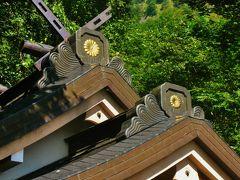 戸隠a 戸隠神社;奥社本殿に参詣 ☆杉木立の先はパワースポット