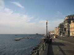 大雨と晴天のナポリを散歩