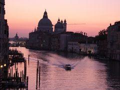 ヴェネチア大運河の夜明け2011① Daybreak of Canal Grande in Venezia