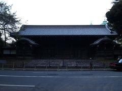 池田家上屋敷表門(黒門)(上野・東京国立博物館)