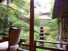 秋の別所温泉で松茸を食べる旅♪ Vol2(第1日目午後) ☆別所温泉の名旅館「かしわや本店」 露天風呂付きお部屋♪