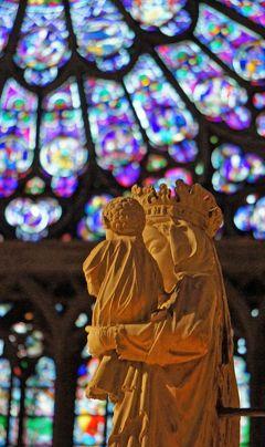 晩秋のパリ旅行(6)ノートルダム寺院とサント・シャペル