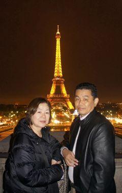 晩秋のパリ旅行(21)ウッディ・アレンの「ナイト・イン・パリ」かジム・ジャームッシュの「ナイト・オン・ザ・プラネット」のように夜景を楽しむ。
