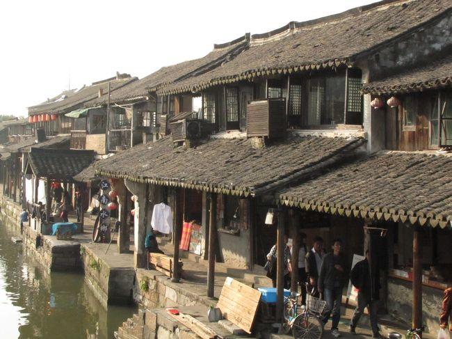 中国江南の旅(3)・・古き良き水郷の町西塘と鳥鎮の東柵を訪ねて