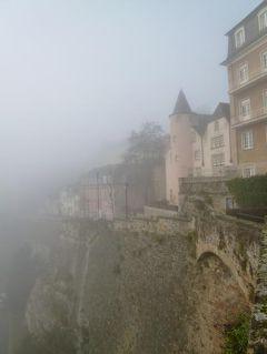 初冬ルクセンブルクのグルメな旅♪ Vol9(第2日目午前) ☆世界遺産ルクセンブルク旧市街の幻想的な渓谷♪