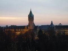 初冬ルクセンブルクのグルメな旅♪ Vol20(第2日目午後) ☆エシュテルナッハからベンツでルクセンブルへ帰る♪そして黄昏のルクセンブルを眺める♪