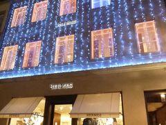 初冬ルクセンブルクのグルメな旅♪ Vol21(第2日目夜) ☆世界遺産ルクセンブルク旧市街の美しい夜景の中を歩く♪煌めくクリスマスのエルメス♪