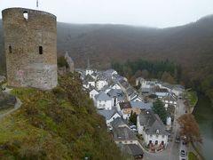初冬ルクセンブルクのグルメな旅♪ Vol30(第3日目午後) ☆エッシュ・シュル・シュール(Esch-sur-Sure)の中世の古城から隣の小高い山の上の塔へ歩く♪