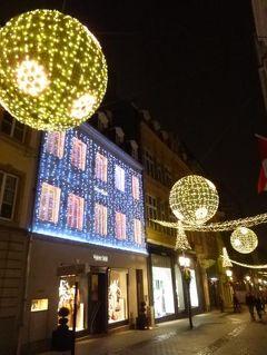 初冬ルクセンブルクのグルメな旅♪ Vol35(第3日目夜) ☆世界遺産ルクセンブルクの美しいクリスマス夜景を優雅に鑑賞♪