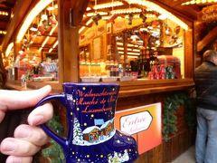 初冬ルクセンブルクのグルメな旅♪ Vol45(第4日目午後) ☆世界遺産ルクセンブルクのダルム広場のクリスマス市でホットワインを飲みながら楽しむ♪