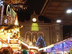 初冬ルクセンブルクのグルメな旅♪ Vol46(第4日目夜) ☆世界遺産ルクセンブルクの憲法広場からの夜景とダルム広場のクリスマス市の夜景を楽しむ♪