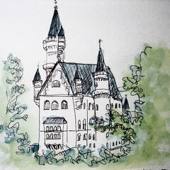 Germany 妹夫婦の定年欧州旅行⑮ノイシュバンシュタイン城