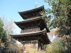2011年師走 曹源寺の三重塔