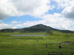 20110825-30 阿蘇旅行記(4) 3日目-2 阿蘇山草千里ヶ浜へ