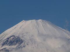 VIALA箱根翡翠の朝 箱根スカイラインからの絶景の富士山 2011年12月