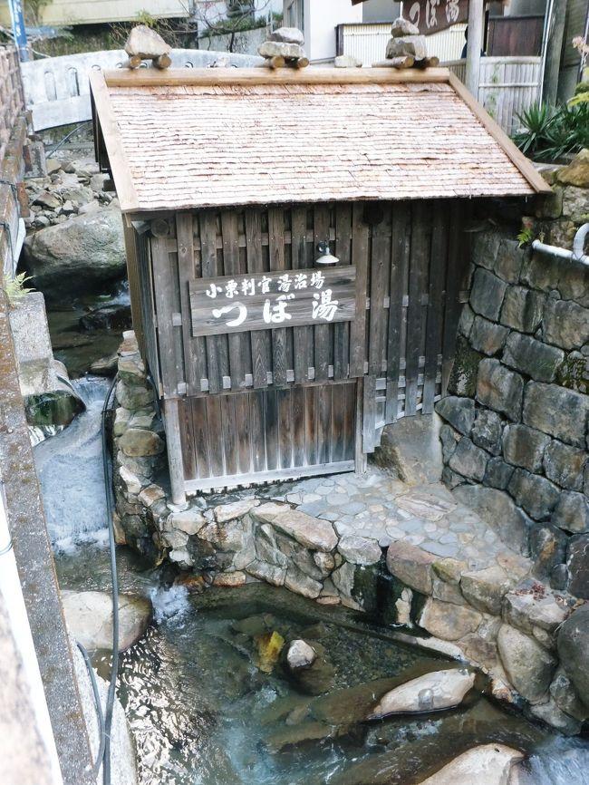 湯の峰温泉での〆は「つぼ湯」<br /><br />日本最古の湯とも言われていて、世界遺産にも登録されたつぼ湯を堪能して湯の峰を後にした私達は千人風呂で有名な川湯温泉に寄り、その後 白浜で買い物をして帰路に。<br /><br />同じ関西圏でも湯の峰は遠く感じて今まで足を運ばなかったけれど、通い続けたい温泉がまたひとつ増えた私達でした。