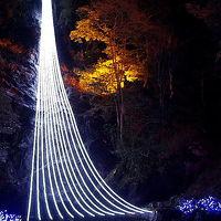 青と白の煌き 2011 琴滝イルミネーション 冬ほたる