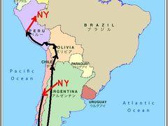 2011年末は南米縦断!パタゴニアとウユニ塩湖とペルー17日間の旅(0)羽 田からソウル経由で成田空港へ・全行程等概要編&おまけのソウル