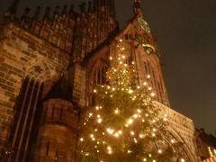 ニュルンベルクとバンベルクのクリスマス旅♪ Vol15(第2日目夜) ☆ニュルンベルクの美しい夜景のクリスマスマーケットを楽しむ♪