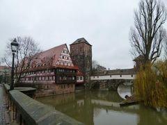 ニュルンベルクとバンベルクのクリスマス旅♪ Vol25(第3日目午前) ☆ニュルンベルクの美しい風景 ワインハウスとヘンカーシュテーク♪