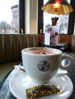ニュルンベルクとバンベルクのクリスマス旅♪ Vol29(第3日目午後) ☆ニュルンベルクの「Le Meridien Grand Hotel」で優雅なカフェタイム♪