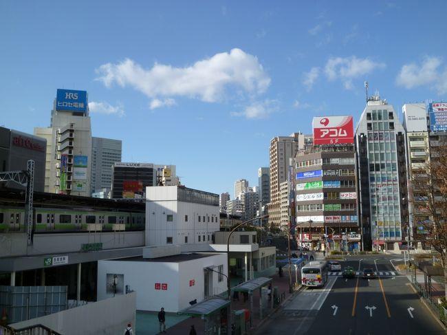 東京を紹介する観光ガイドブックからほとんど省かれてる街、五反田。<br />確かにこれといった観光名所はないし、渋谷や原宿のように垢抜けてるわけでもない。<br />さらに「夜の街」として歓楽街のイメージも付き纏う。<br /><br />しかし実際はTOC(東京卸売り市場、要は巨大なショッピングビルみたいなもの)があったり、池田山という都内有数の高級住宅街があったりと様々な表情を持つ街である。<br /><br />今回は五反田周辺をTOCから駅を通り池田山まで散策してみた。<br />※正月なので閉まってる施設が多少あったが、そこは大目に見ていただきたい。