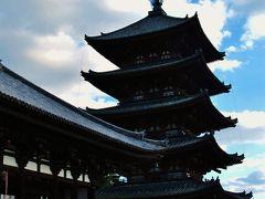 奈良 興福寺 東金堂に参拝・中金堂は再建中 ☆国宝館で阿修羅像と対面