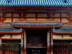 京都錦秋-6 平等院 鳳凰堂内部を拝観 ☆浄土式庭園や鳳翔館も