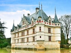 年末年始のフランス #10 - アゼ=ル=リドー城、ロワール川古城ドライブ 3