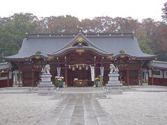 立川諏訪神社訪問